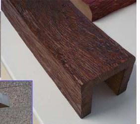 Деревянные фальшбалки из массива