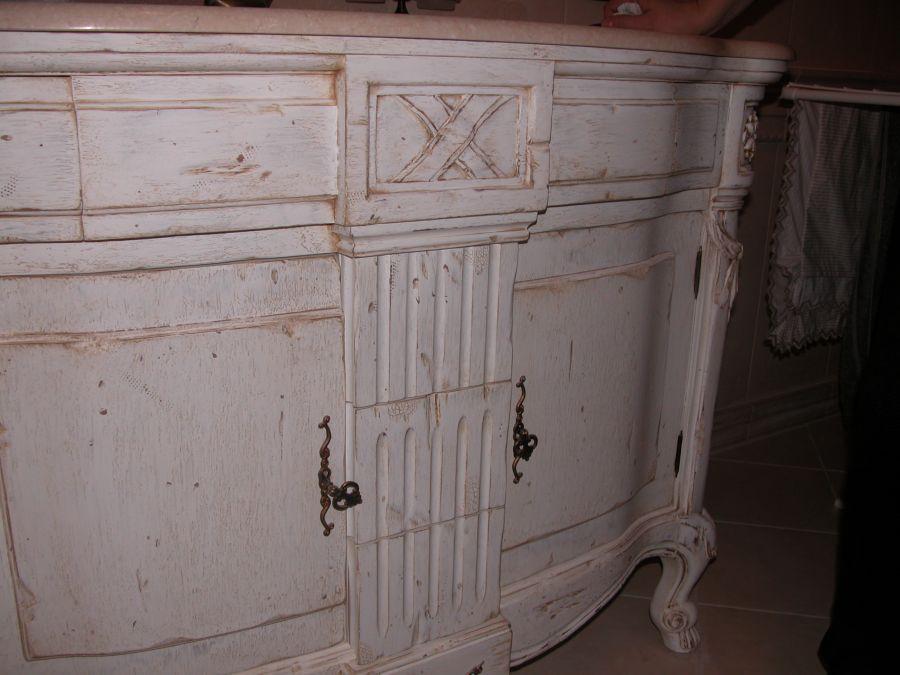 Покрасить мебель прованс своими руками
